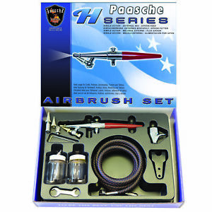Paasche HS 3AS Formerly HS SET Single Action Airbrush Set $85.00