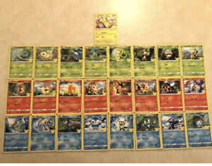 New Full Set 25 POKEMON CARDS McDonalds 2021 Promo Non Holo 25th Anniversary 🔥 $24.99