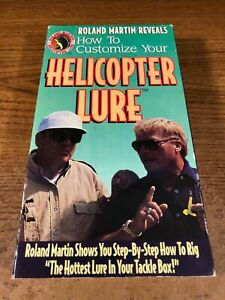 How To Customize Your Helicopter Lure VHS Used Movie Video Tape Roland Martin