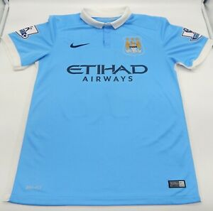 Nike Etihad Airways YAYA TOURE Jersey Barclays League 42 Manchester City MCFC