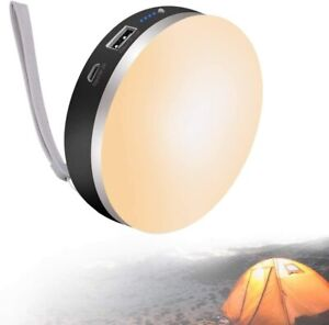 Rechargeable Camping Lantern led Lantern Power Outage Emergency Light w Cover