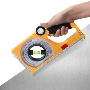 Portable Protractor Angle Meter Level Inclinometer Measuring Tool With Magnets $21.13