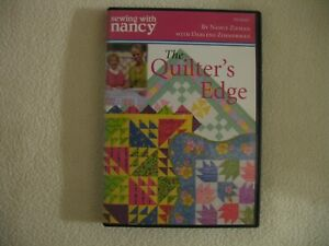 Sewing with Nancy Zieman The Quilter#x27;s Edge DVD $23.99