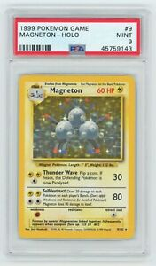 Pokemon Cards PSA 9 Magneton 9 102 Base Set MINT PSA9 GBP 248.99