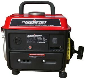 Power Smart PS50 1000 Watt 2 Stroke Manual Start Portable Generator