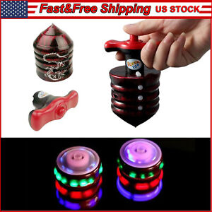 Gyroscope Flashing Innoxious LED Spinning Top Spinner with Music Kids Toys Gift
