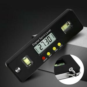 Magnetic Horizontal Angle Meter Electronic Digital Protractor Level Inclinometer $14.82