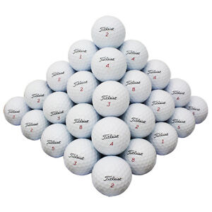 48 Titleist Mix Good Quality Used Golf Balls AAA *In a Free Bucket *