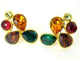 Chanel Gripoix Clip Earrings Collection 26 $3000.00
