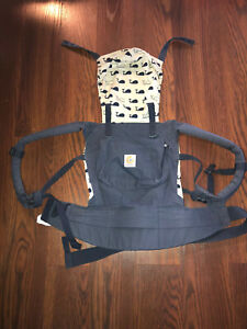 Ergo Baby Carrier Whales navy $25.00