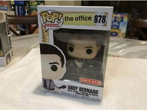 Funko Pop Office Andy Bernard #878 target exclusive $45.00
