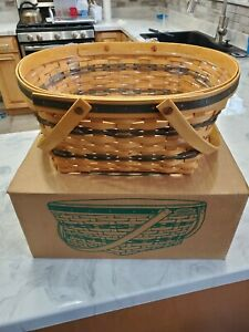 1996 Traditions Community Longaberger With Protector amp; Liner Brand New With Box $49.95