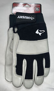 New Husky XL Water Resistant Leather Work Glove