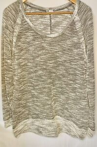 KUT from the Kloth Womens Marled Grey Sweater Size Extra Large $19.50