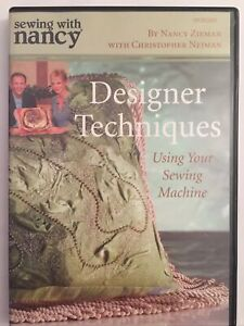 Sewing With Nancy DVD Designer Techniques Using Your Sewing Machine $14.97