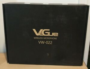 VeGue UHF Dual Channel Wireless Microphone System VW 022 $79.00