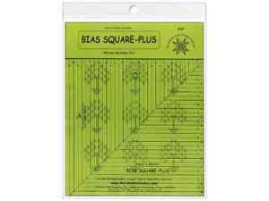 Feathered Star Ruler Bias Square Plus $21.74