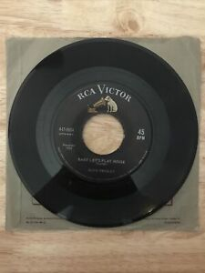 Elvis Presley Baby Let's Play House I'm Left You're Right.. RCA VICTOR 447 0604 $79.95