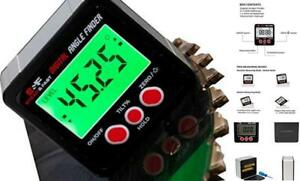 Digital Angle Finder Gauge Magnetic Protractor Inclinometer Angle Cube Level $34.78