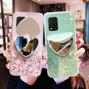 Bling Glitter Mirror Soft Slim Case Cover For Samsung Galaxy S21 S20 FE A51 A71