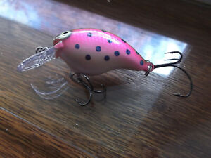 Custom Painted Rapala Wood DT 4DT 4Bagley#x27;s Trout