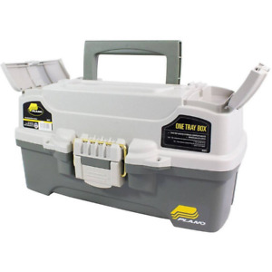 Fishing Tackle Box One Tray Gear Hooks Lures Lightweight Sturdy Bait Storage