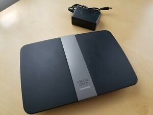 Cisco Linksys E4200 V2 Wireless Router w 4 LAN Ports USED Make Offer