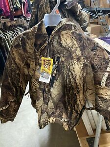 Deer Camp Naked North Camo Youth Hunting Jacket Size Large