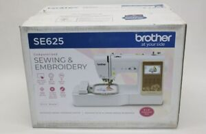 ✓ NEW In Box Brother SE625 Computerized Sewing and Embroidery Machine FREE SHIP $599.95