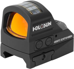 New HOLOSUN HS507C X2 Classic Multi Reticle Red Dot Sight Free shipping $350.00