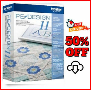Brother PE Design 11 10�Embroidery🌟Full Software 2021 Free GIFTS�5ss DLVREY� $10.99
