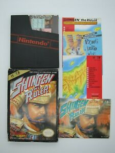 Shingen the Ruler Nintendo Entertainment System NES Cleaned and Tested COMPLETE C $34.00