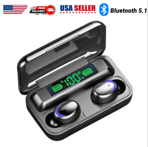 Bluetooth Earbuds for iPhone Samsung Android Wireless Earphone IPX7 Waterproof $15.90
