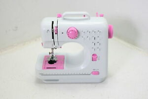 NEX Sewing Machine Crafting Mending Portable w 12 Built In Stitches White $43.16