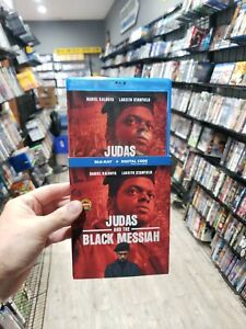 Judas and the Black Messiah BLU RAY with SLIPCOVER No digital FOLLOW US 🇺🇸 $14.99