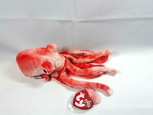 Ty Beanie Baby Wiggly the Squid New with Tags 2000 H1