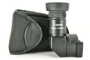 quot; Near MINT quot; Canon Right Angle View finder C w Case for Film Camera From JAPAN $78.80