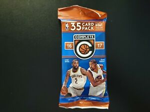 2016 17 Panini Complete Basketball Fat Cello Pack Factory Sealed