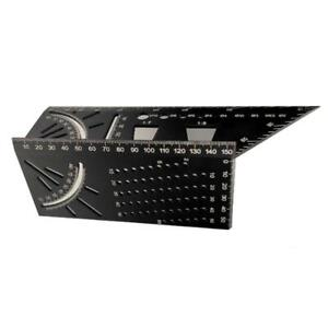 Multifunctional Angle Ruler Measuring Tool 45 90 Degree Woodworking Gauge Square $10.64