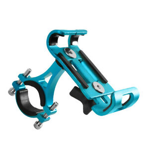 360° Aluminum Motorcycle Bike Bicycle For MTB GPS Cell Phone Holder Mount USA $9.59
