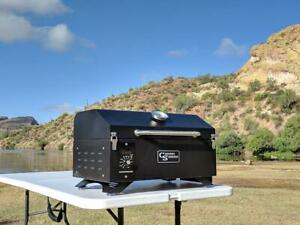 Portable Wood Pellet Grill Country Smokers Outdoors Tailgating Camping Traveler