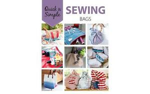 LEISURE ARTS 7231 QUICK SIMPLE SEWING BAGS BK $12.70