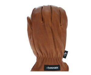 Husky Oil And Water Resistant Leather Gloves Large