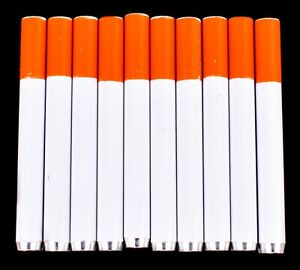 10x Metal One Hitter Pipe Cigarette Style Dugout Bat Large 3quot; FREE SHIPPING USA $8.99
