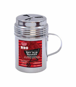 Tablecraft BBQ Silver Stainless Steel Dry Rub Shaker w Handle Pack of 1