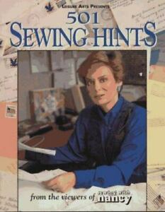 501 Sewing Hints: From the Viewers of Sewing With Nancy $4.08
