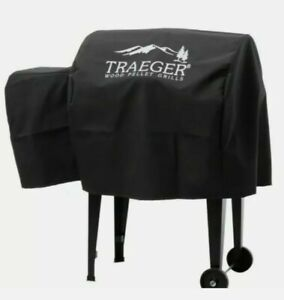 Traeger Hydrotuff Cover for Junior Black BAC309 NEW Fits BBQ 055 Free Shipping $31.59