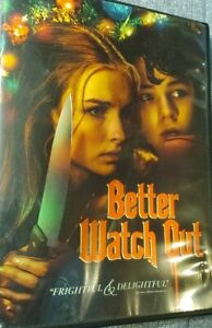 Better Watch Out DVD Estate Item as is condition. Good Condition