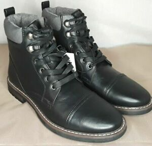 Goodfellow And Co Mens Boots Black size 10 10.5 11 11.5 12