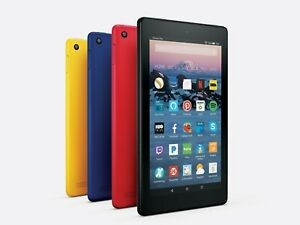 Amazon Fire 7 Tablet With Alexa 7quot; Display 8 GB 7th Gen Good Condition